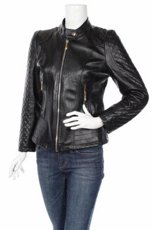 Γυναικείο δερμάτινο μπουφάν, Μέγεθος M, Χρώμα Μαύρο, Δερματίνη, Τιμή 25,34€