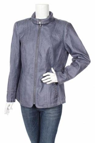 Γυναικείο δερμάτινο μπουφάν Bexleys, Μέγεθος XL, Χρώμα Μπλέ, Δερματίνη, Τιμή 19,49€