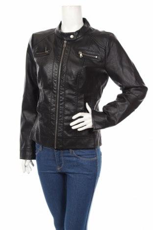 Dámska kožená bunda  Only, Veľkosť L, Farba Čierna, Eko koža , Cena  23,09€