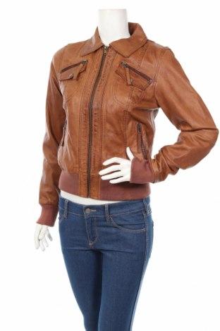 Dámska kožená bunda  Punchball, Veľkosť S, Farba Hnedá, Pravá koža , Cena  205,67€
