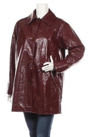Dámska kožená bunda  Topshop, Veľkosť L, Farba Červená, Eko koža , Cena  28,50€