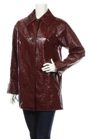 Dámska kožená bunda  Topshop, Veľkosť M, Farba Červená, Eko koža , Cena  32,12€