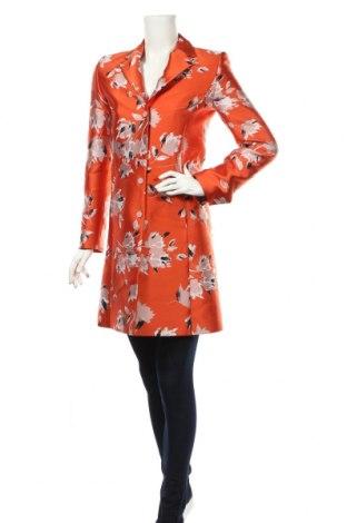 Γυναικείο παλτό Hugo Boss, Μέγεθος XS, Χρώμα Πορτοκαλί, 64% πολυεστέρας, 36% βαμβάκι, Τιμή 173,89€