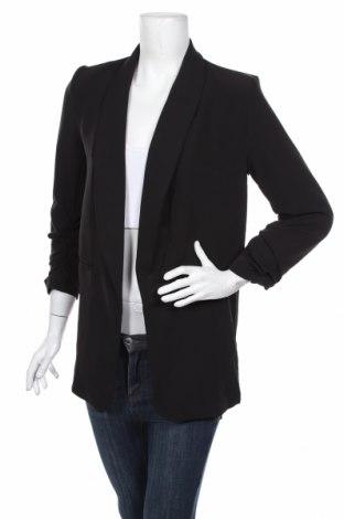 Дамско сако Boohoo, Размер M, Цвят Черен, 90% полиестер, 10% еластан, Цена 37,44лв.