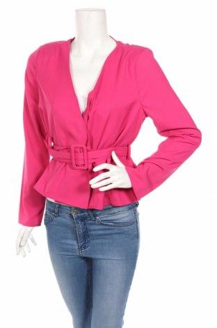 Дамско сако Boohoo, Размер M, Цвят Розов, Полиестер, Цена 49,68лв.