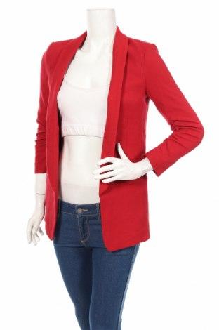 Дамско сако H&M, Размер XXS, Цвят Червен, 63% полиестер, 35% вискоза, 2% еластан, Цена 35,10лв.