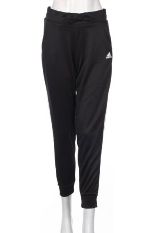 Γυναικείο αθλητικό παντελόνι Adidas, Μέγεθος L, Χρώμα Μαύρο, 100% πολυεστέρας, Τιμή 30,43€
