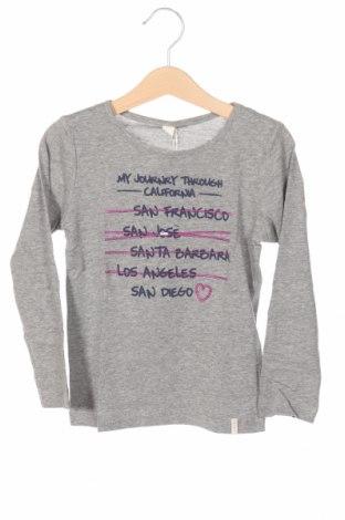 Детска блуза Esprit, Размер 3-4y/ 104-110 см, Цвят Сив, 75% памук, 25% вискоза, Цена 8,97лв.
