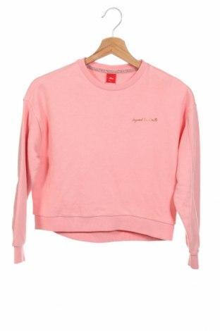 Детска блуза S.Oliver, Размер 8-9y/ 134-140 см, Цвят Розов, 90% памук, 10% полиестер, Цена 34,50лв.