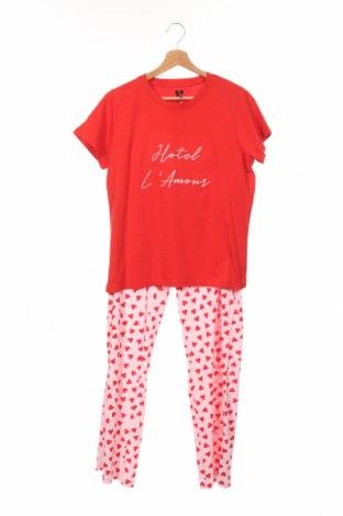 Детска пижама V by Very, Размер 13-14y/ 164-168 см, Цвят Червен, Памук, Цена 20,88лв.