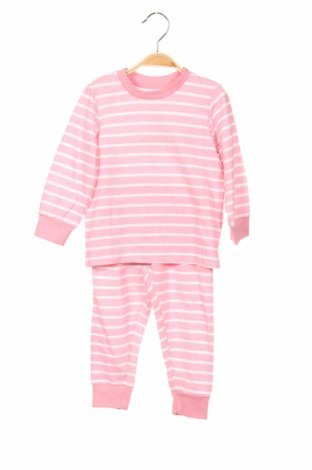 Piżama dziecięca V by Very, Rozmiar 12-18m/ 80-86 cm, Kolor Różowy, Bawełna, Cena 85,00zł