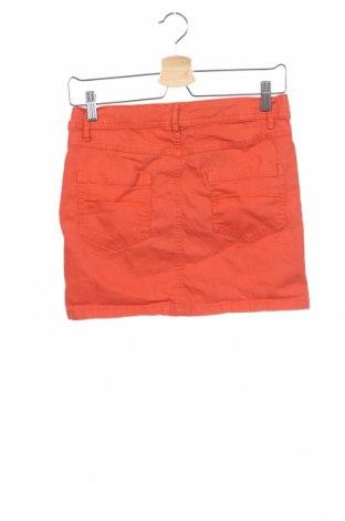 Детска пола Tom Tailor, Размер 14-15y/ 168-170 см, Цвят Оранжев, 98% памук, 2% еластан, Цена 3,36лв.