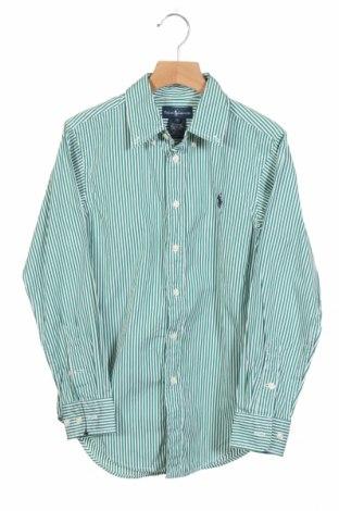 Детска риза Ralph Lauren, Размер 10-11y/ 146-152 см, Цвят Зелен, 100% памук, Цена 26,49лв.
