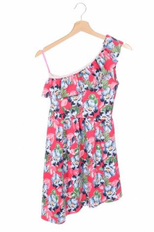 Детска рокля Abercrombie Kids, Размер 14-15y/ 168-170 см, Цвят Многоцветен, 93% полиестер, 7% еластан, Цена 41,58лв.