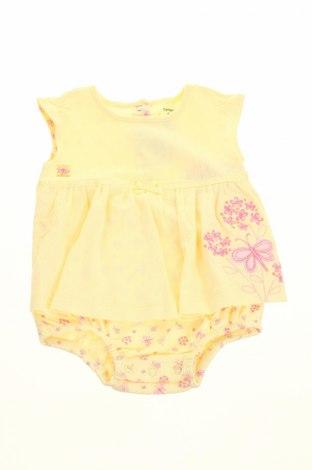 Rochie de copii Carter's, Mărime 6-9m/ 68-74 cm, Culoare Galben, 100% bumbac, Preț 77,98 Lei