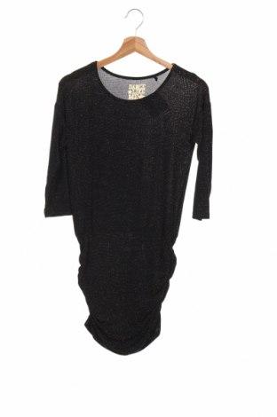 Detské šaty  Here+There, Veľkosť 10-11y/ 146-152 cm, Farba Čierna, 92% polyester, 5% elastan, 3% vlákna , Cena  12,78€