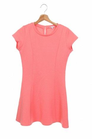 Детска рокля U Collection, Размер 13-14y/ 164-168 см, Цвят Розов, 98% полиестер, 2% еластан, Цена 6,04лв.