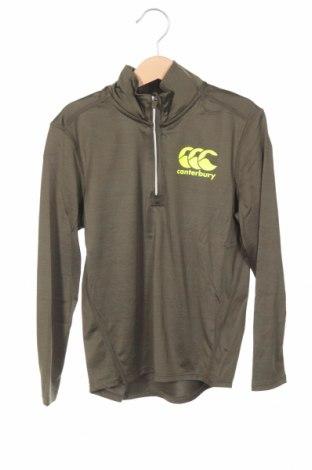 Детска спортна блуза Canterbury, Размер 5-6y/ 116-122 см, Цвят Зелен, 88% полиестер, 12% еластан, Цена 29,25лв.