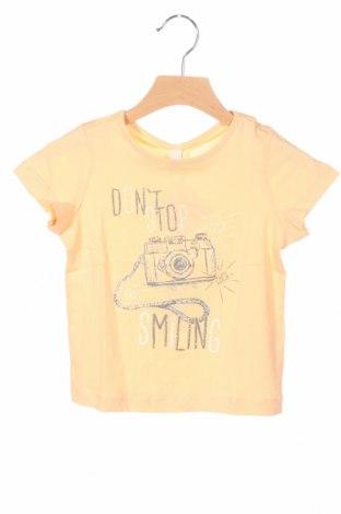 Tricou de copii Esprit, Mărime 18-24m/ 86-98 cm, Culoare Bej, Bumbac, Preț 69,16 Lei