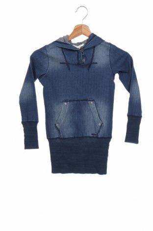 Tunică de copii Diesel, Mărime 7-8y/ 128-134 cm, Culoare Albastru, 95% bumbac, 5% elastan, Preț 182,37 Lei