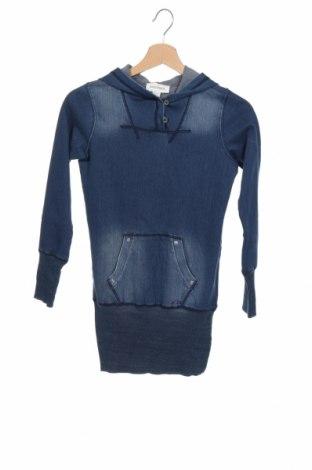 Tunică de copii Diesel, Mărime 9-10y/ 140-146 cm, Culoare Albastru, 95% bumbac, 5% elastan, Preț 186,45 Lei