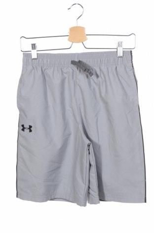 Pantaloni scurți de copii Under Armour, Mărime 14-15y/ 168-170 cm, Culoare Gri, Poliester, Preț 111,79 Lei