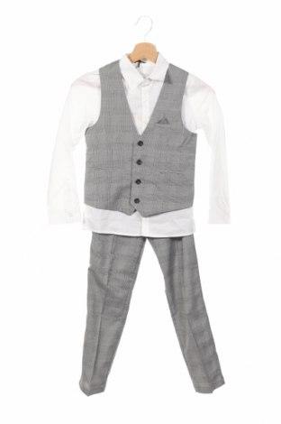 Gyerek öltöny V by Very, Méret 8-9y / 134-140 cm, Szín Szürke, 98% poliészter, 2% elasztán, Ár 6720 Ft