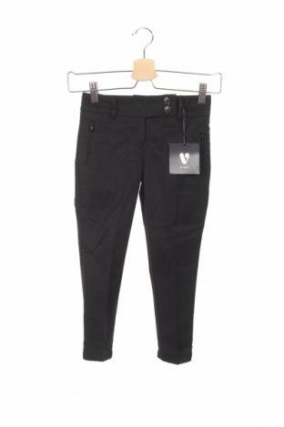 Pantaloni de copii V by Very, Mărime 4-5y/ 110-116 cm, Culoare Negru, 65% poliester, 35% viscoză, Preț 46,32 Lei