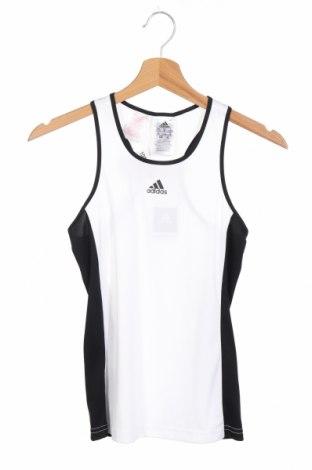 Детски потник Adidas, Размер 9-10y/ 140-146 см, Цвят Бял, Полиестер, Цена 42,00лв.