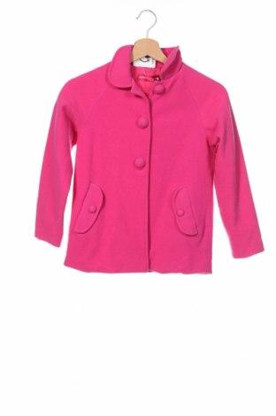 Детско палто Agatha Ruiz De La Prada, Размер 7-8y/ 128-134 см, Цвят Розов, 80% вълна, 20% полиамид, Цена 79,12лв.