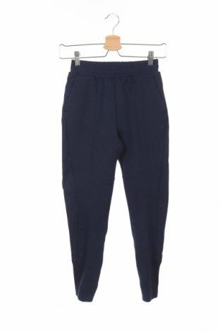 Παιδική κάτω φόρμα Adidas, Μέγεθος 8-9y/ 134-140 εκ., Χρώμα Μπλέ, 67% βαμβάκι, 33% πολυεστέρας, Τιμή 18,19€