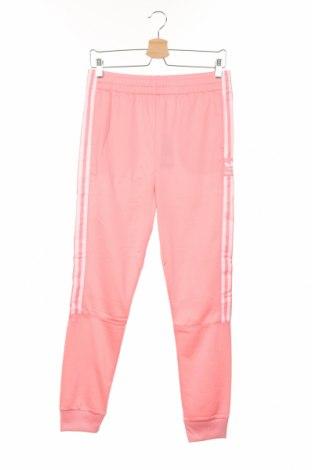Pantaloni trening de copii Adidas Originals, Mărime 12-13y/ 158-164 cm, Culoare Roz, Poliester, Preț 96,71 Lei
