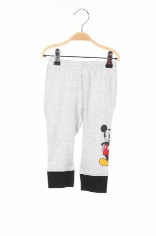 Pantaloni trening de copii Disney, Mărime 9-12m/ 74-80 cm, Culoare Gri, 98% bumbac, 2% elastan, Preț 55,26 Lei