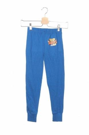 Pantaloni trening de copii Nickelodeon, Mărime 6-7y/ 122-128 cm, Culoare Albastru, Bumbac, Preț 55,26 Lei