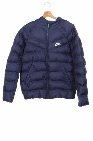 Παιδικό αθλητικό μπουφάν Nike, Μέγεθος 12-13y/ 158-164 εκ., Χρώμα Μπλέ, Πολυεστέρας, Τιμή 55,85€