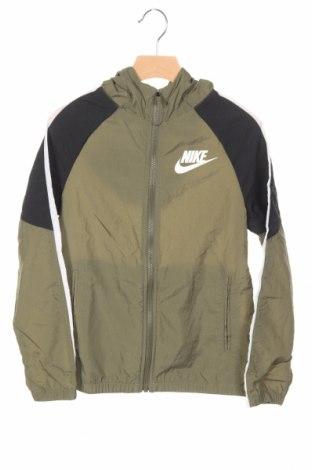 Detská športová bunda  Nike, Veľkosť 7-8y/ 128-134 cm, Farba Zelená, Polyamide, Cena  34,14€