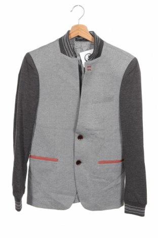 Detská bunda , Veľkosť 14-15y/ 168-170 cm, Farba Sivá, 65% polyester, 35% bavlna, Cena  17,86€