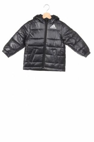 Детско яке Adidas, Размер 3-4y/ 104-110 см, Цвят Черен, Полиестер, Цена 65,40лв.