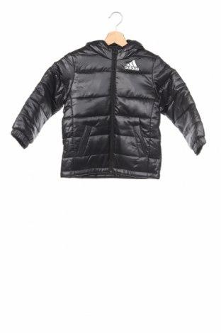 Детско яке Adidas, Размер 5-6y/ 116-122 см, Цвят Черен, Полиестер, Цена 95,92лв.