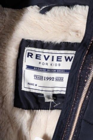 Детско яке Review, Размер 5-6y/ 116-122 см, Цвят Син, Полиестер, Цена 38,72лв.