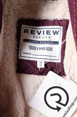 Детско яке Review, Размер 9-10y/ 140-146 см, Цвят Лилав, Полиестер, Цена 38,72лв.