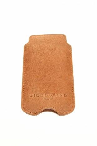 Калъф за телефон Liebeskind, Цвят Кафяв, Естествена кожа, Цена 37,44лв.