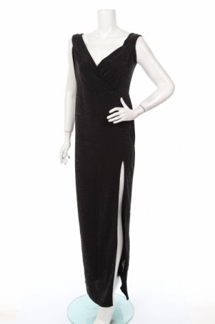 Кожена рокля Boohoo, Размер M, Цвят Черен, 95% полиестер, 5% еластан, Цена 42,48лв.