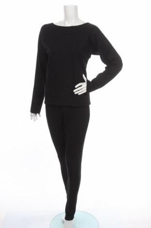 Komplet  Makadamia, Veľkosť S, Farba Čierna, 72% bavlna, 20% polyester, 8% elastan, Cena  20,04€