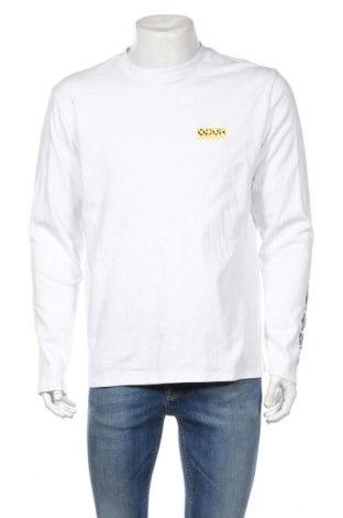 Ανδρική μπλούζα Hugo Boss, Μέγεθος L, Χρώμα Λευκό, Βαμβάκι, Τιμή 34,39€