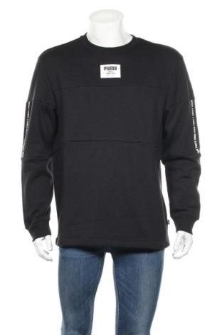 Мъжка блуза PUMA, Размер M, Цвят Черен, 97% памук, 3% еластан, Цена 42,48лв.