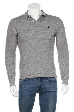 Ανδρική μπλούζα Polo By Ralph Lauren, Μέγεθος M, Χρώμα Γκρί, Βαμβάκι, Τιμή 27,69€