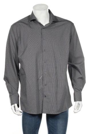 Ανδρικό πουκάμισο Eterna, Μέγεθος XL, Χρώμα Γκρί, Βαμβάκι, Τιμή 5,47€