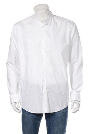 Ανδρικό πουκάμισο Jake*s, Μέγεθος XL, Χρώμα Λευκό, 97% βαμβάκι, 3% ελαστάνη, Τιμή 13,92€