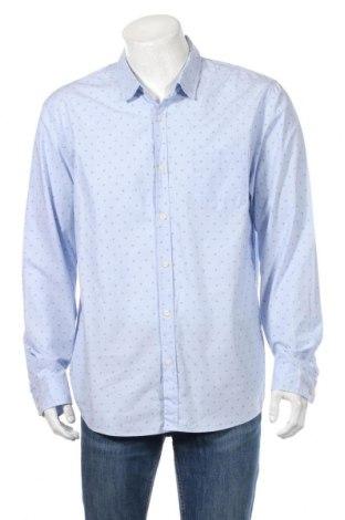 Ανδρικό πουκάμισο Jeanswest, Μέγεθος XL, Χρώμα Μπλέ, Βαμβάκι, Τιμή 5,55€